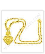 Necklaces in 23k Thai Gold