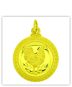 Low Price Gold Zodiac Pendants (Chinese Years)