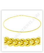 Franco Gold Chain Necklaces