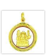 Thai Amulets Collections (Gold Indian God Pendants)