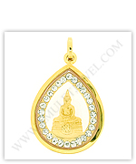 Sothon Amulets for Gold Buddha Necklaces
