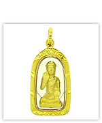Gold Thai Worship Amulets